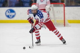 Jack Hughes of USA Hockey's NTDP. (Photo Credit - Rena Laverty and USA Hockey's NTDP