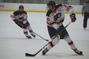 Roman Schmidt of the Don Mills Flyers. (Photo Credit: Max Lewis)