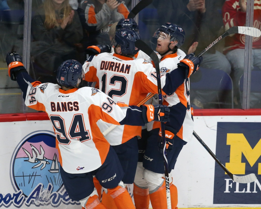 Flint Firebirds Photo by Luke Durda/OHL Images