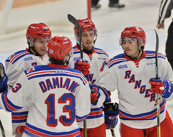 Kitchener Rangers. Photo by Terry Wilson / OHL Images.