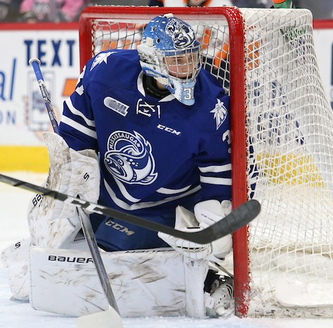 Joe Ranger of the Mississauga Steelheads Photo by Luke Durda/OHL Images